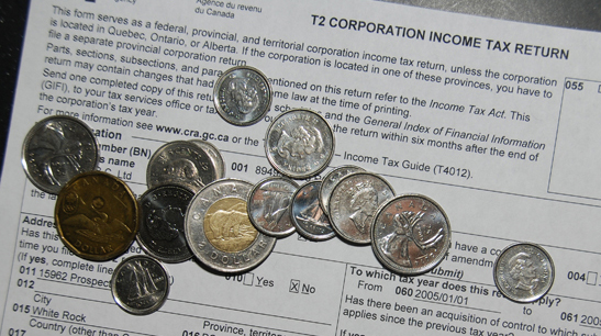 coins-and-t2-tax-form-b